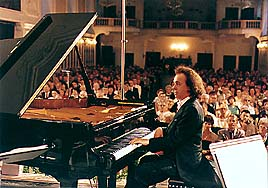 Photo from International Music Festival concert in Český Krumlov 1997