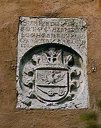 Coat-of-arms of Ferdinand Carrati from Carrara