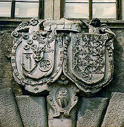 Alliance Coat-of-arms Eggenberg and Braniborg