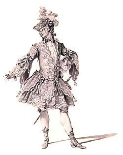 Costume design by A. D. Bertoli