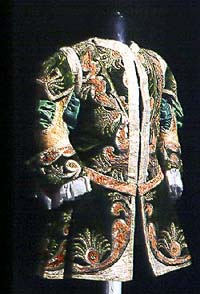 Theatre costume, depository of the Český Krumlov Castle Theatre, around 1740