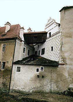 Castle no. 59 - Dairy, rear section from northern side