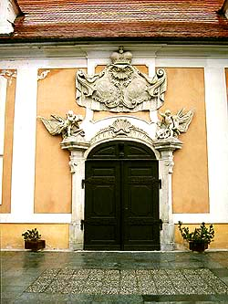 Castle no. 178 - Castle Riding School, detail of main portal