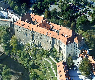 Castle no. 59 - Upper Castle, areal photo, foto: Lubor Mrázek