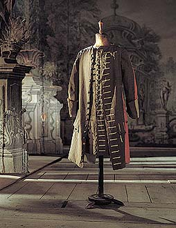 Castle Theatre in Český Krumlov, Reversible coat, the costume from the second third of the 18th century, 1999, Foto: Věroslav Škrabánek