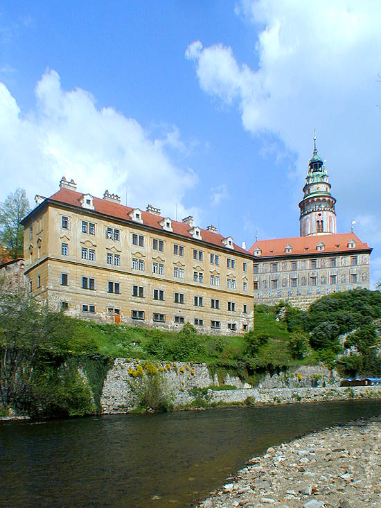 Castle no. 59 - Mint, building from southern side, from the Vltava River, 2001, foto: Lubor Mrázek