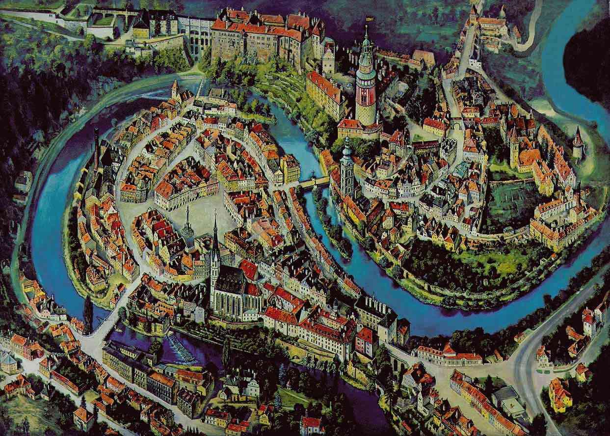 小镇地图(map)