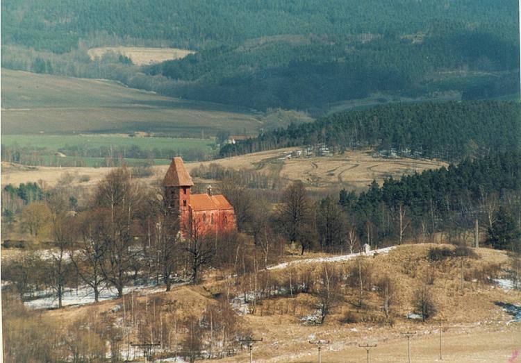 Kostel sv. Mikuláše Boletice, foto Archiv NPÚ