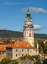 Castle Tower in Český Krumlov, photo: Lubor Mrázek
